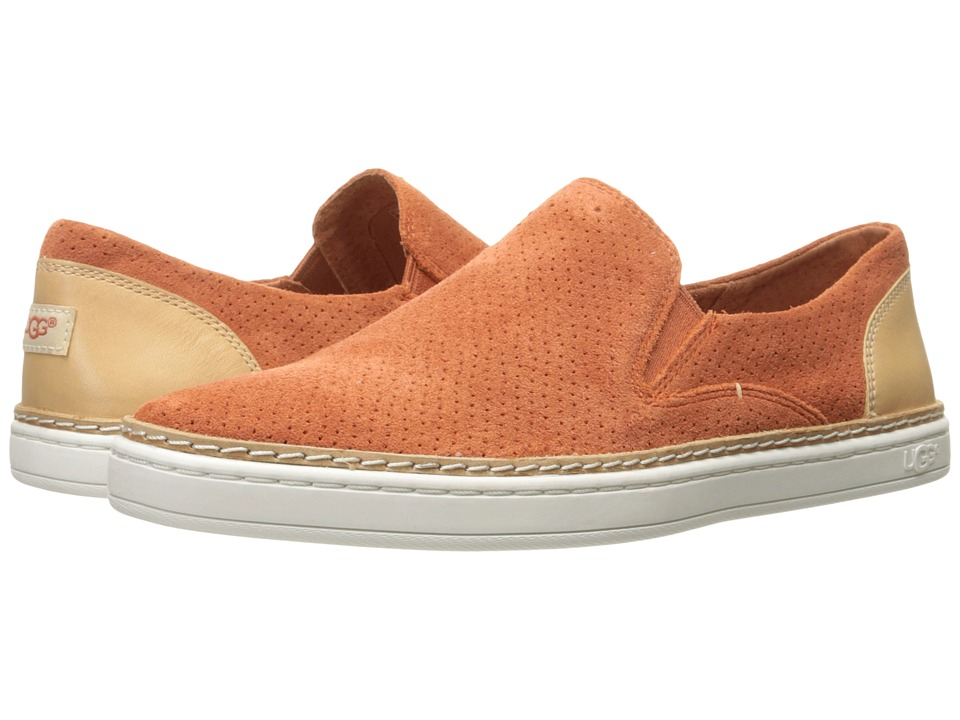 UGG - Adley Perf (Fire Opal) Women's Flat Shoes