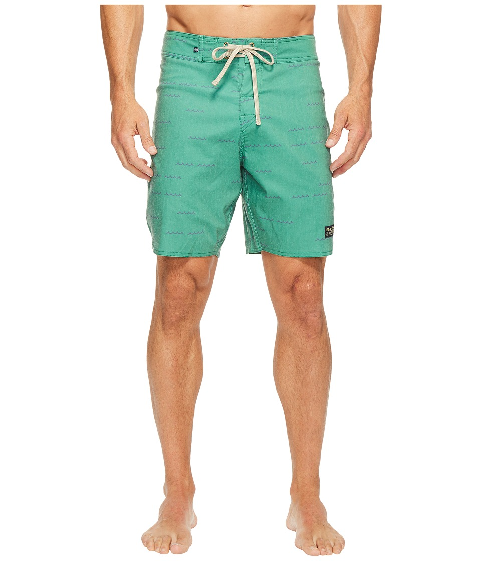 United By Blue Openwater Boardshorts (Green) Men
