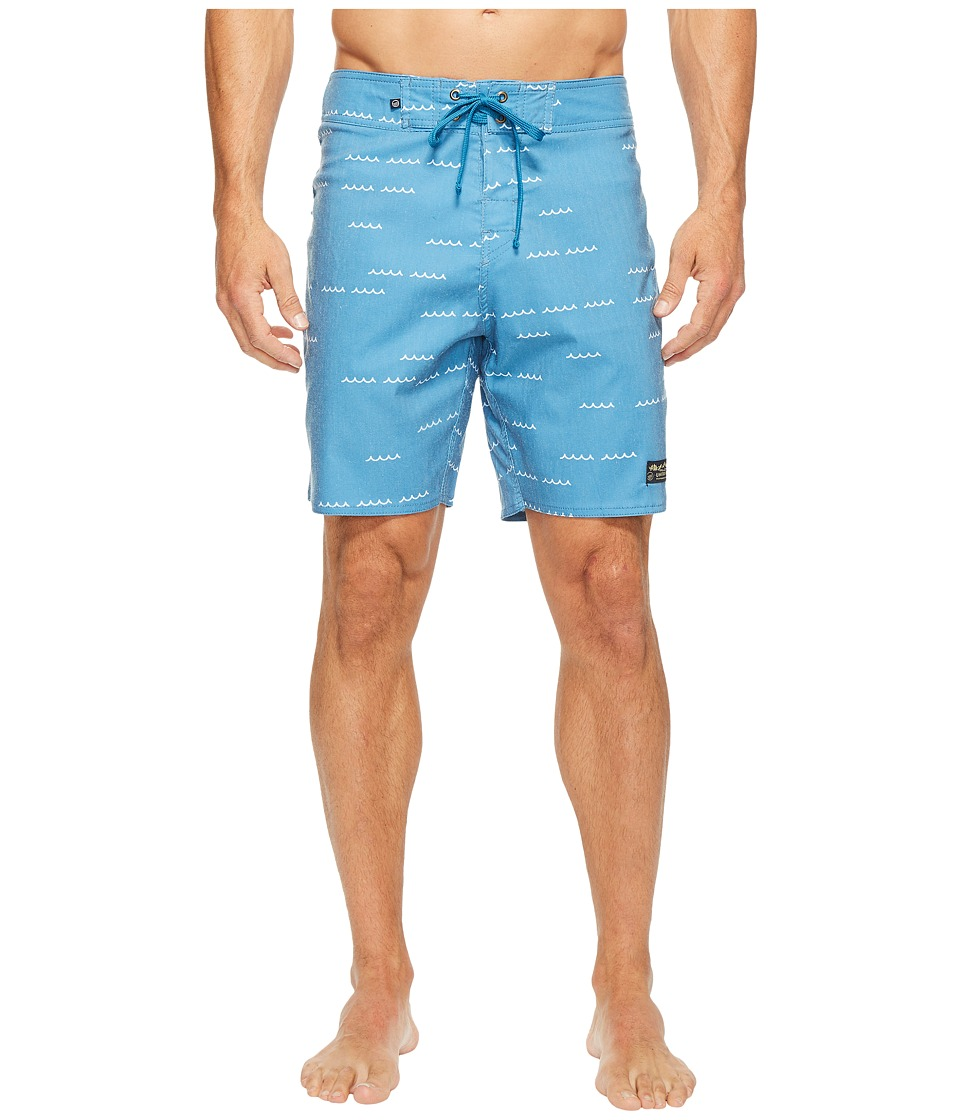 United By Blue Openwater Boardshorts (Blue) Men