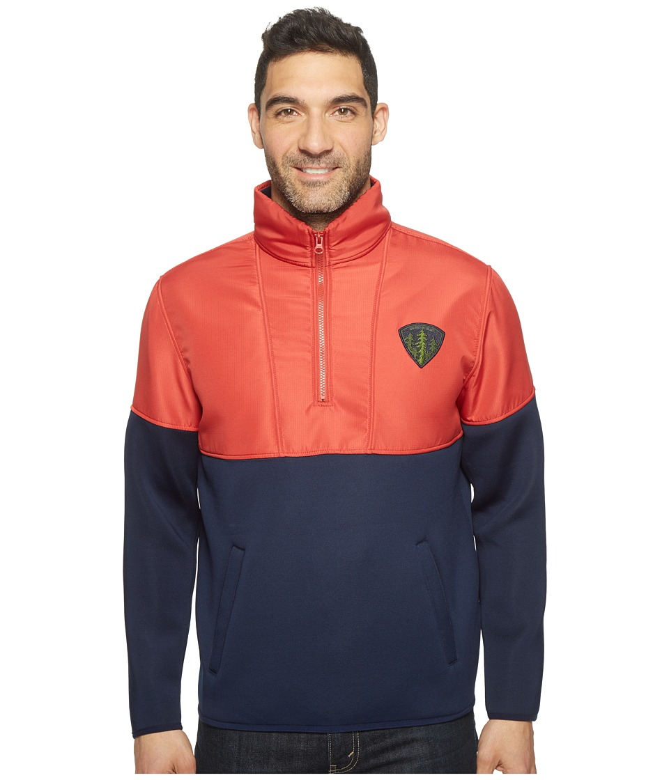 United By Blue - Benton Pullover (Red/Navy) Men's Clothing