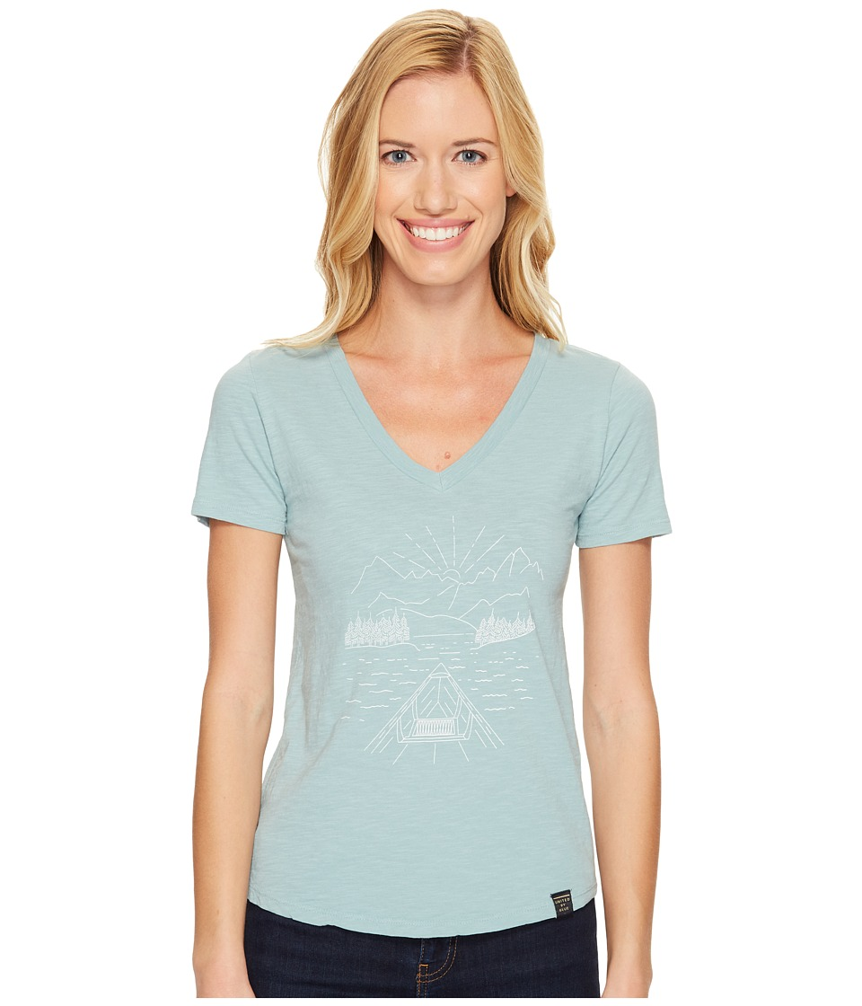 United By Blue - Canoe (Teal) Women's Clothing