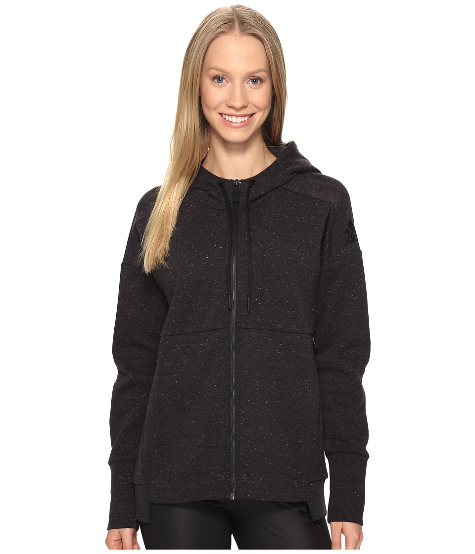adidas - Stadium Hoodie (Black) Women's Sweatshirt