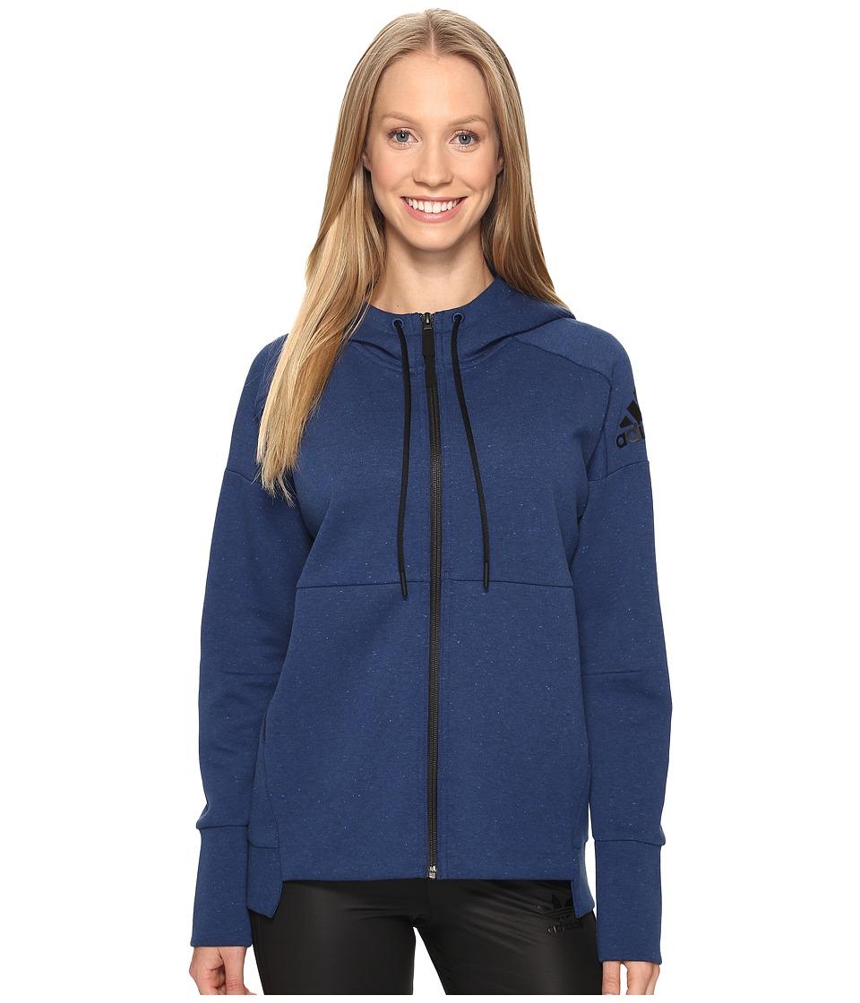 adidas - Stadium Hoodie (Mystery Blue) Women's Sweatshirt