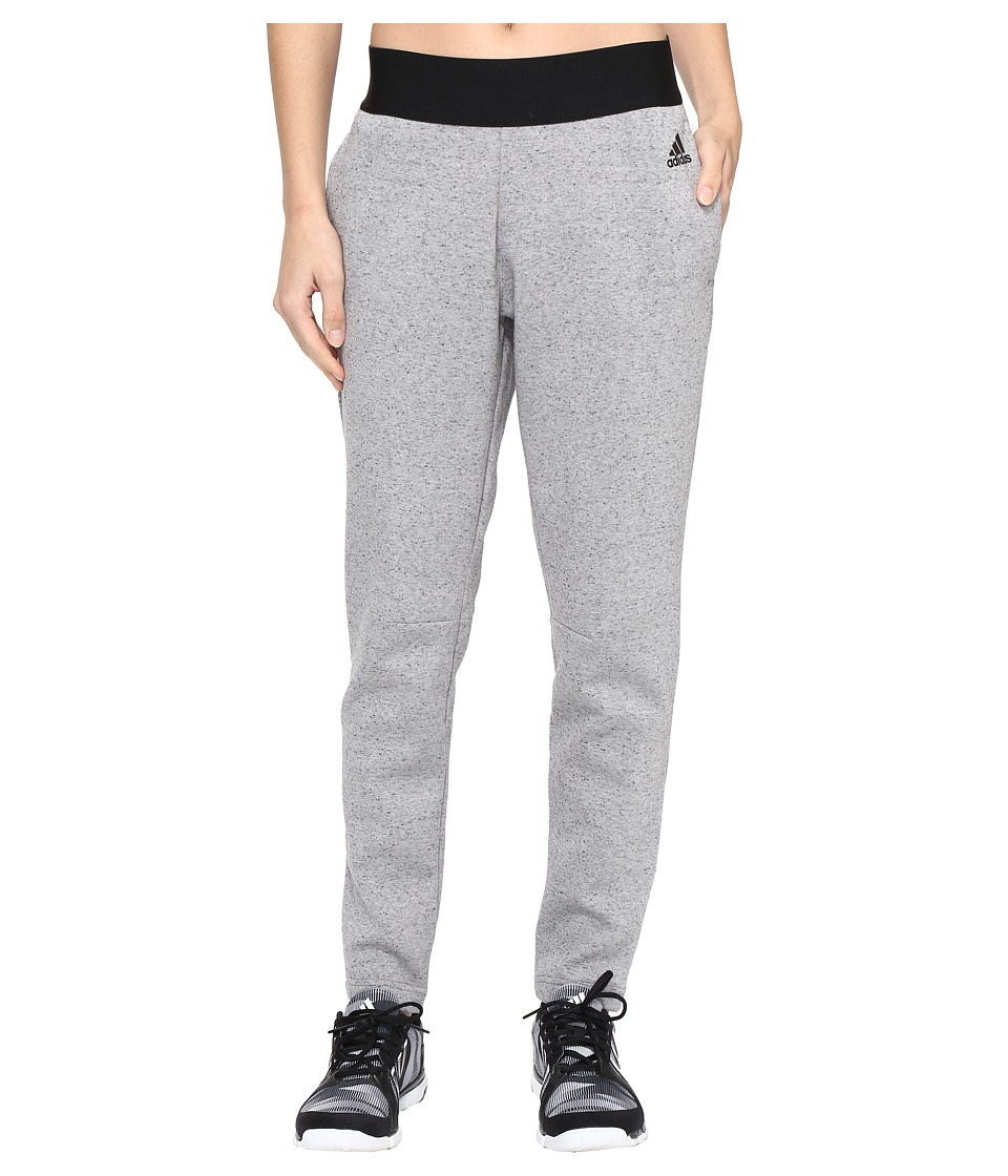 adidas Stadium Pants (Medium Grey Heather) Women