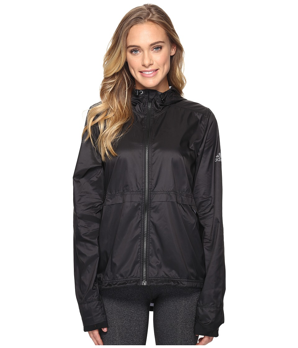 adidas - Clear Goals Jacket (Black) Women's Coat