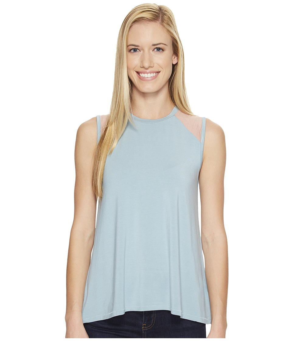 United By Blue - Champlain Tank Top (Teal/Blush) Women's Sleeveless