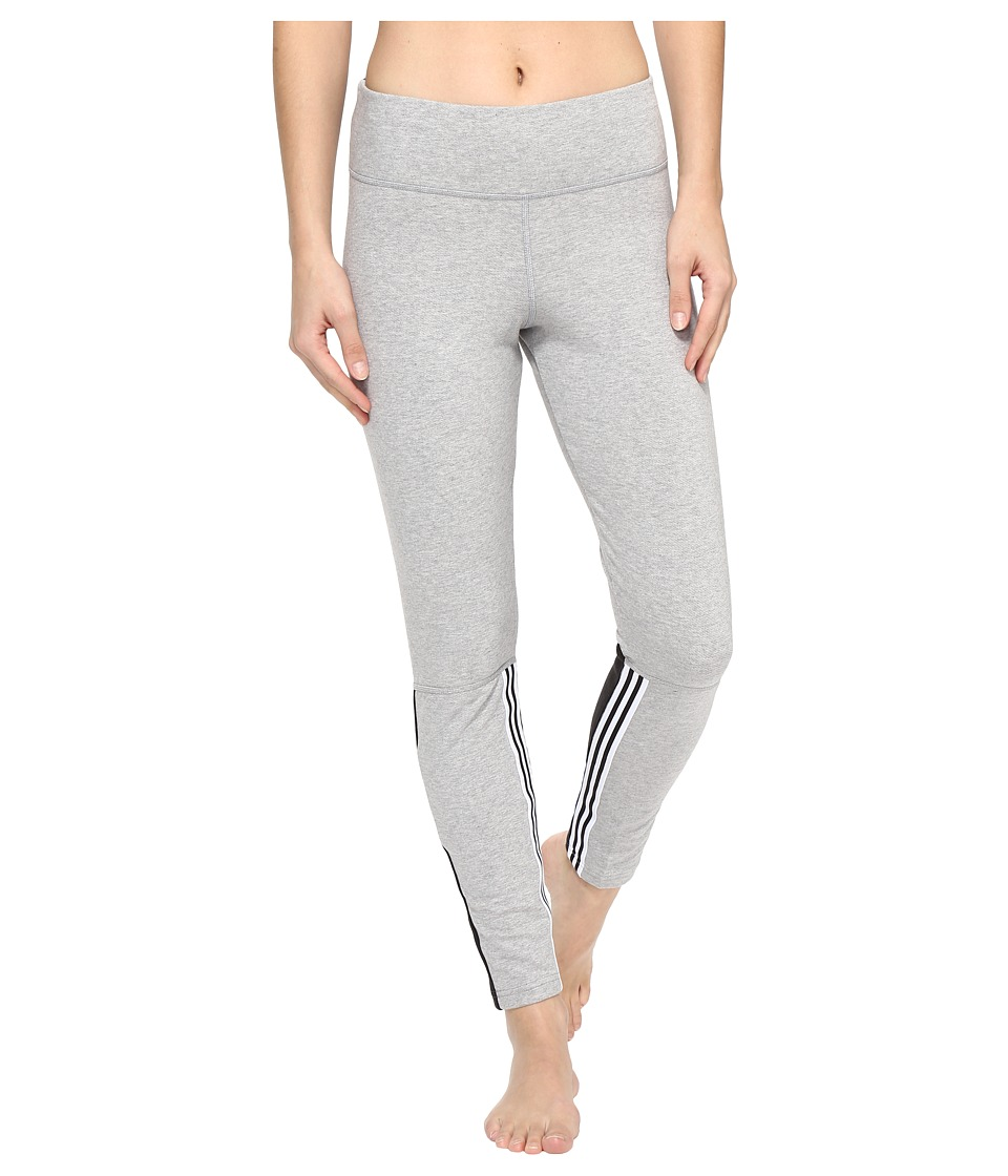 adidas - Comfort Leggings (Medium Grey Heather) Women's Casual Pants