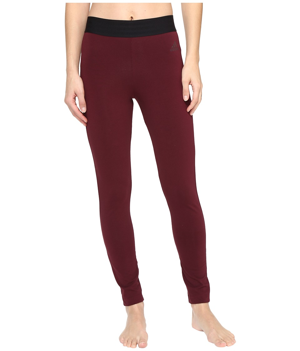 adidas - Sport ID Tights (Maroon) Women's Casual Pants
