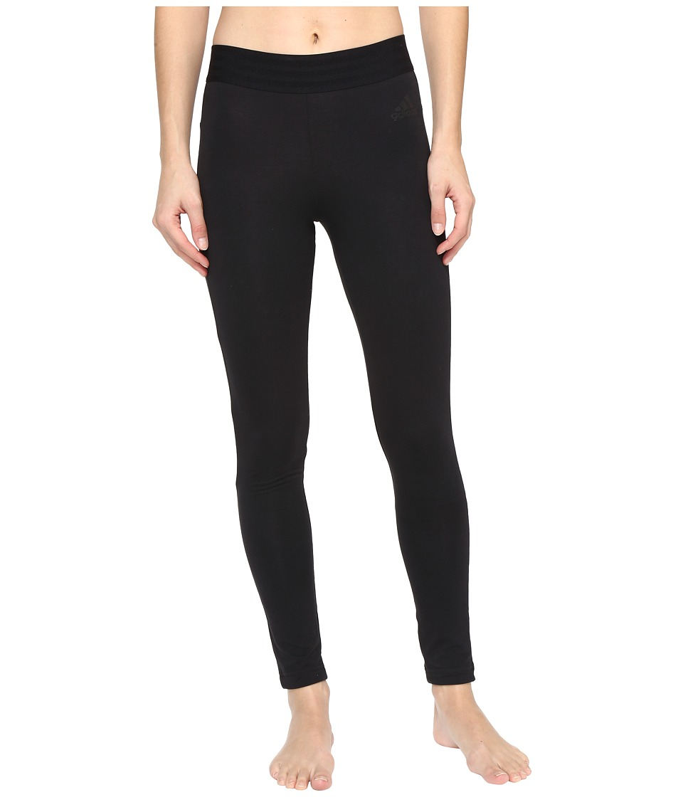 adidas - Sport ID Tights (Black) Women's Casual Pants