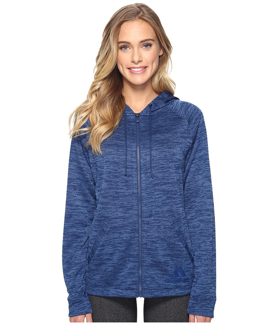 adidas - Sport-2-Street Hoodie (Mystery Blue S17) Women's Sweatshirt