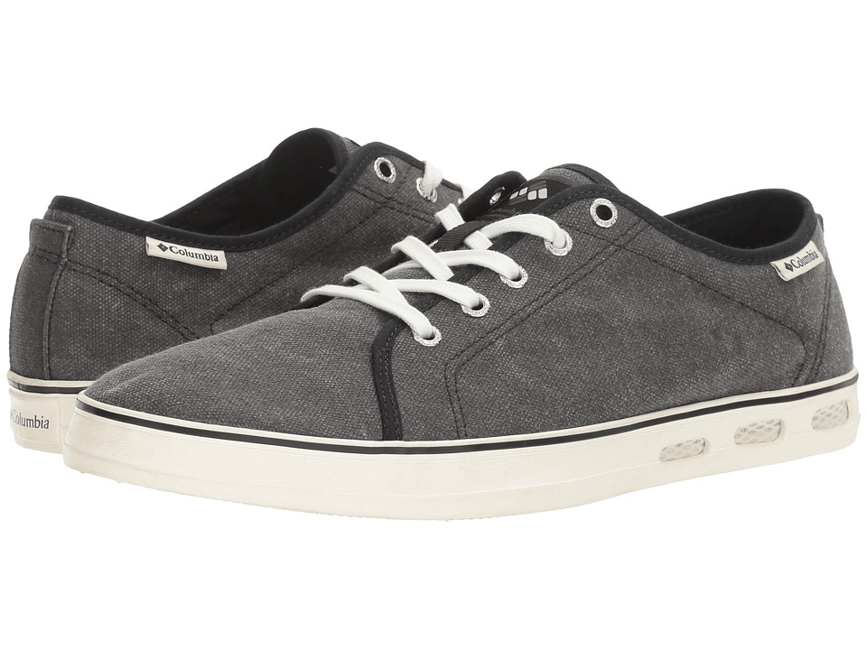 Columbia - Vulc N Vent Shore Lace (Black/Sea Salt) Men's Shoes