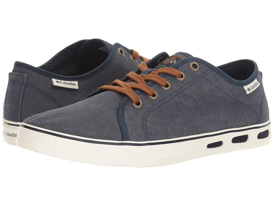 Columbia - Vulc N Vent Shore Lace (Collegiate Navy/Sea Salt) Men's Shoes