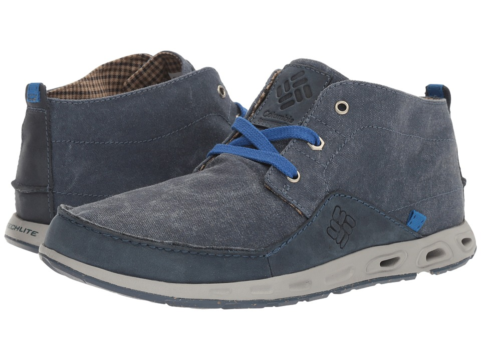 Columbia - Sunvent Chukka (Collegiate Navy/Super Blue) Men's Shoes