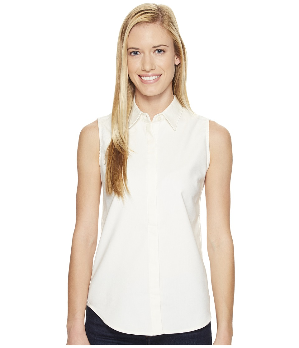 United By Blue - Sleeveless Sierra Shirt (Ivory) Women's Sleeveless