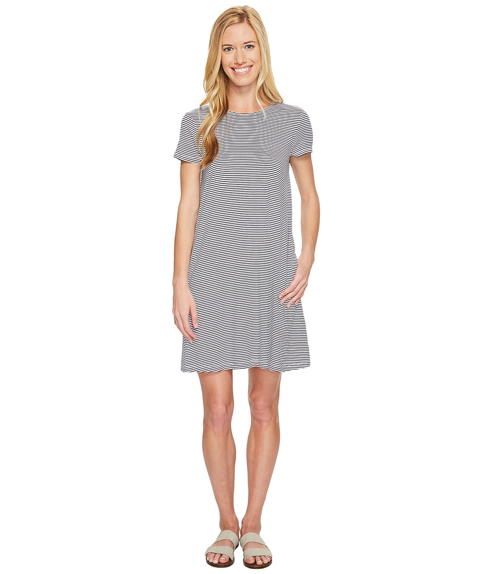 United By Blue Ridley Swing Dress (Navy/White) Women