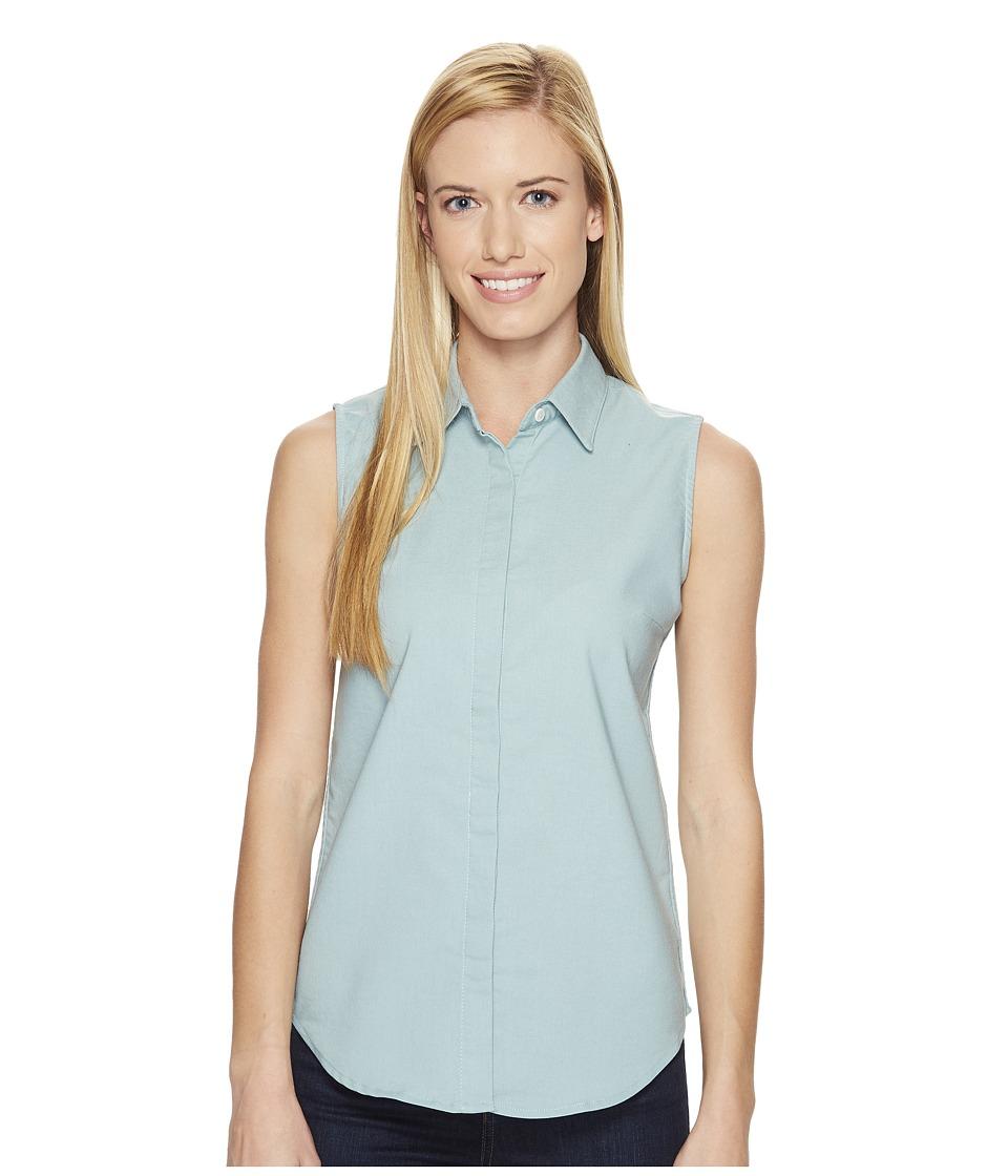 United By Blue - Sleeveless Sierra Shirt (Teal) Women's Sleeveless