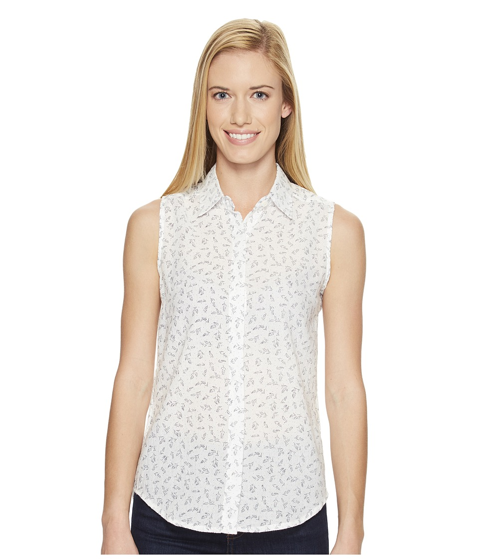 United By Blue - Sleeveless Primrose Shirt (Ivory) Women's Sleeveless