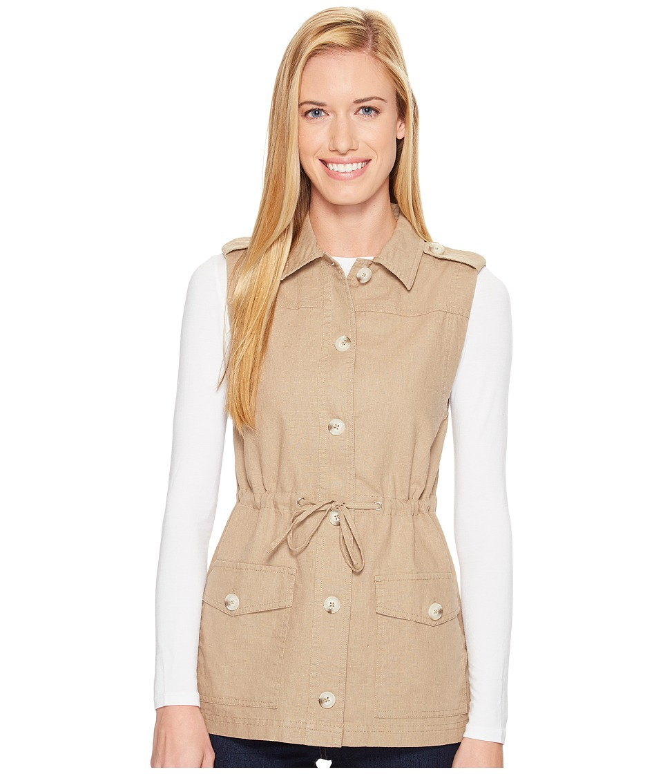 United By Blue - Kelly Knob Vest (Tan) Women's Vest