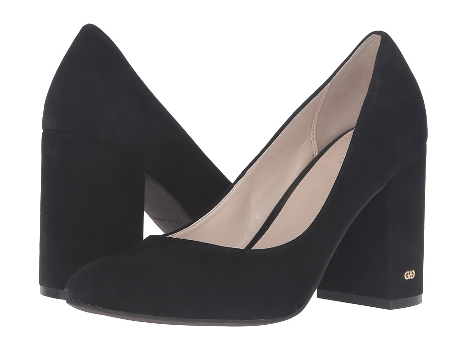 Cole Haan - Alanna Pump 85mm II (Black Suede) High Heels