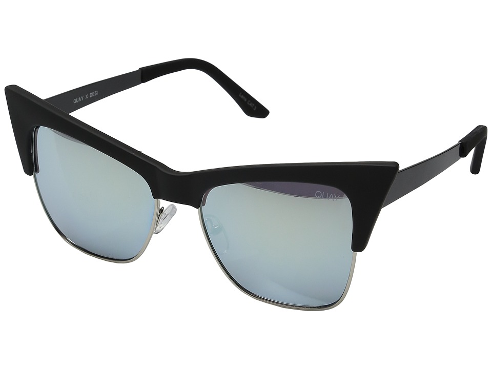 QUAY AUSTRALIA - T.Y.S.M QUAY X DESI (Black/Mint) Fashion Sunglasses