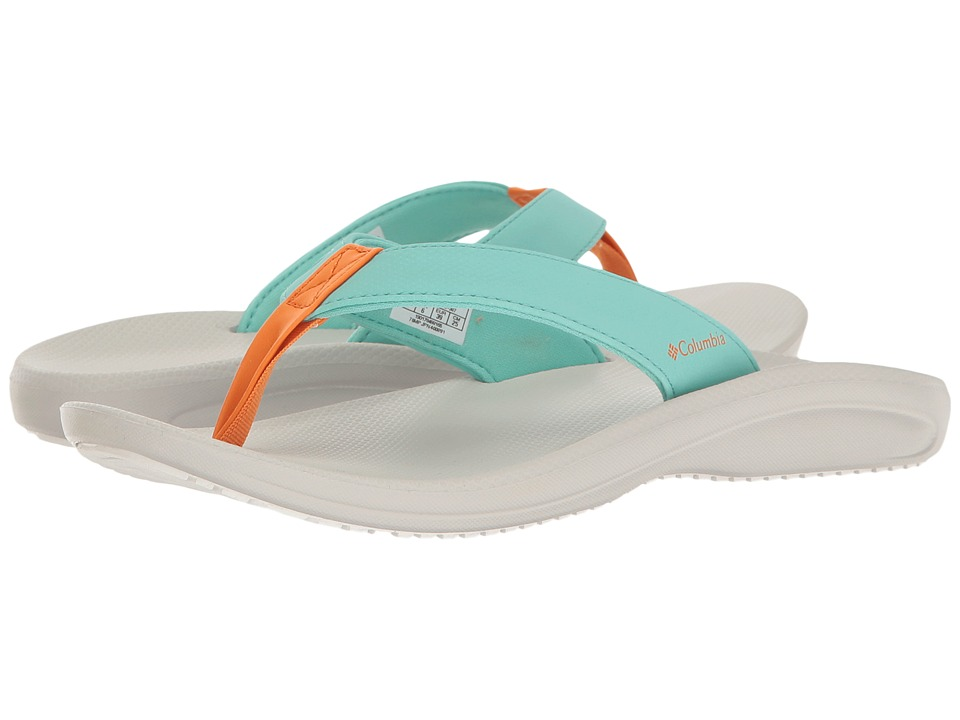 Columbia - Barraca Flip (Aquarium/Valencia) Women's Sandals