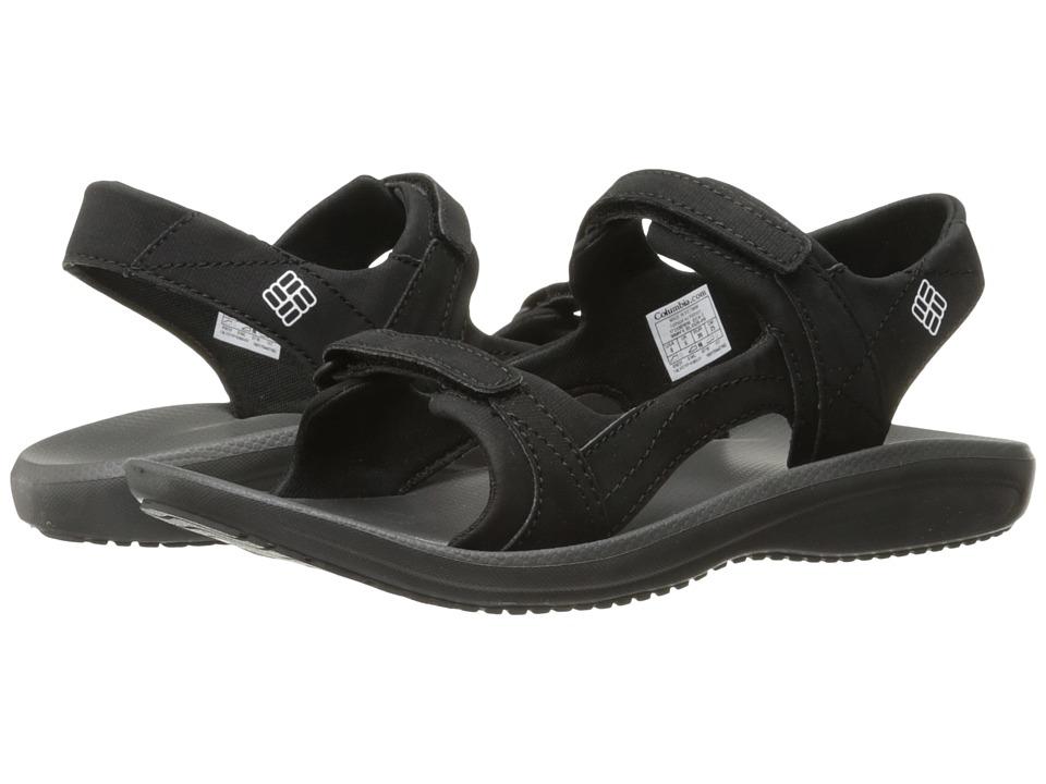 Columbia - Barraca Sunlight (Black/White) Women's Sandals