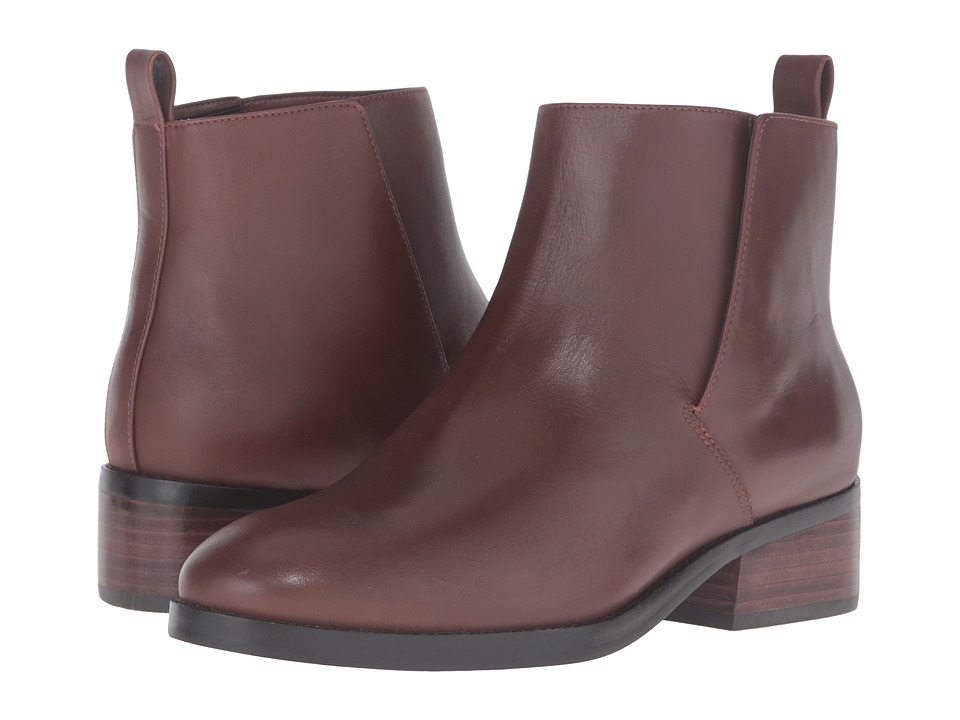 Cole Haan Dabney Bootie II (Harvest Brown Leather) Women
