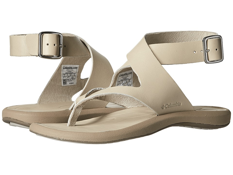 Columbia - Caprizee Leather Sandal (Stone/Oxford) Women's Sandals