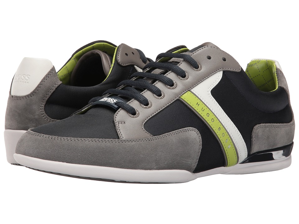BOSS Hugo Boss - Spacit by BOSS Green (Open Blue 1) Men's Lace up casual Shoes