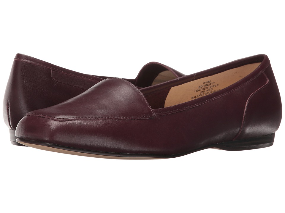Bandolino Liberty (Black Cherry Softique BR) Women
