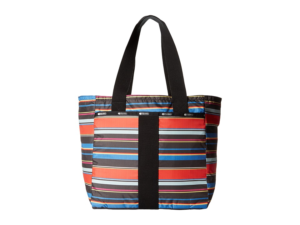 LeSportsac - Everyday Tote (Ribbon Stripe) Tote Handbags
