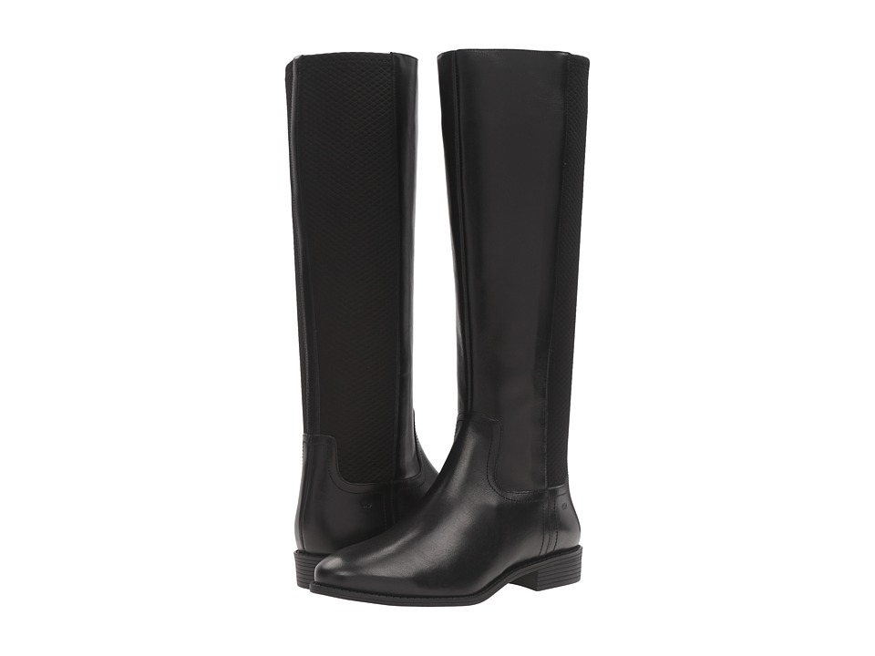 Cole Haan - Tilley Boot II (Black Leather/Black) Women's Boots