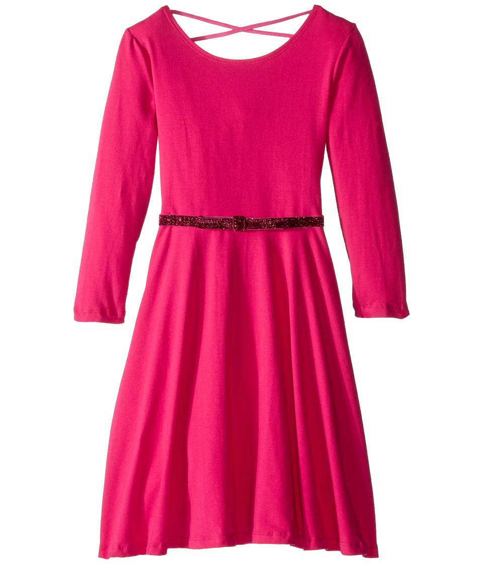 fiveloaves twofish - Ballerina Skater Dress (Little Kids/Big Kids) (Hot Pink) Girl's Dress