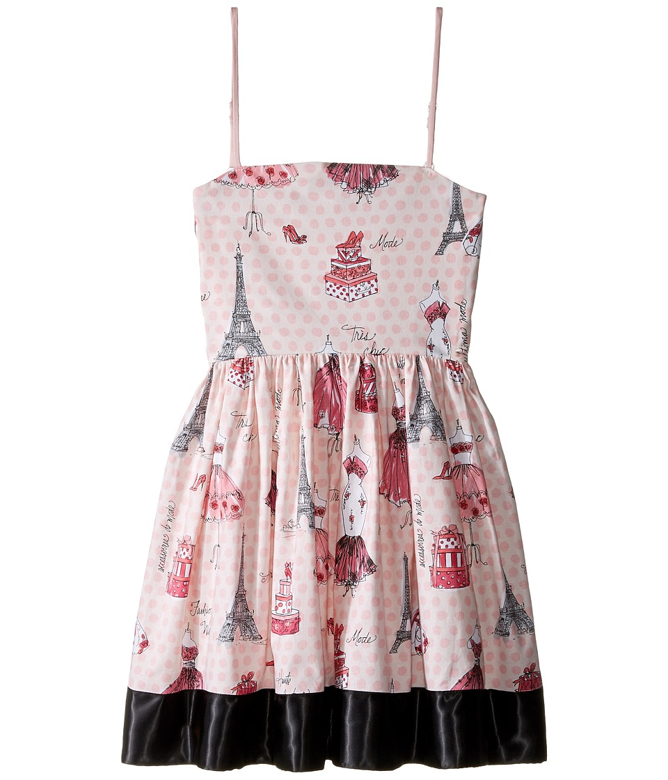 fiveloaves twofish - Ribbon Party Vogue Dress (Big Kids) (Pink) Girl's Dress
