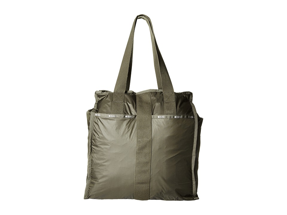 LeSportsac Luggage - Large City Tote (Gravel) Tote Handbags
