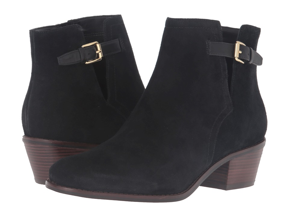 Cole Haan Willette Bootie II (Black Suede) Women
