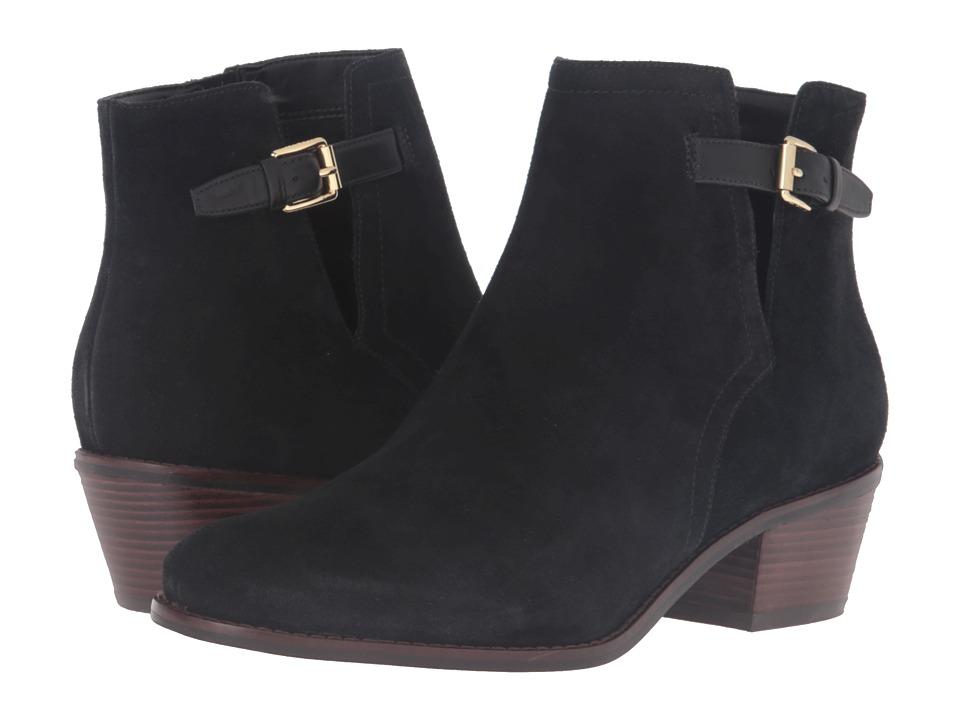 Cole Haan - Willette Bootie II (Black Suede) Women's Boots