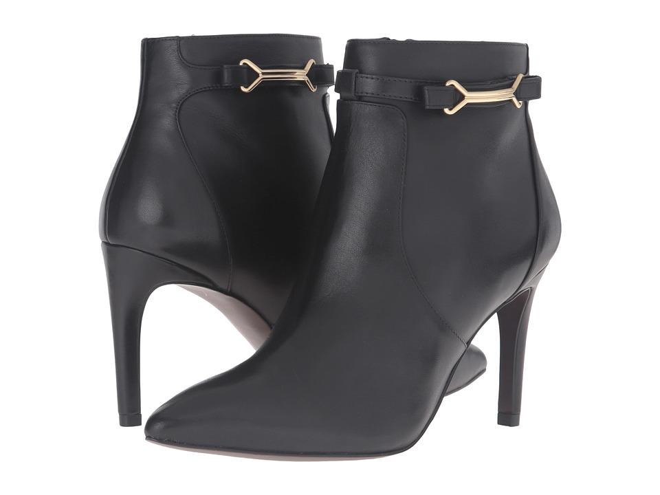 Cole Haan Loveth Shootie II (Black Leather) Women