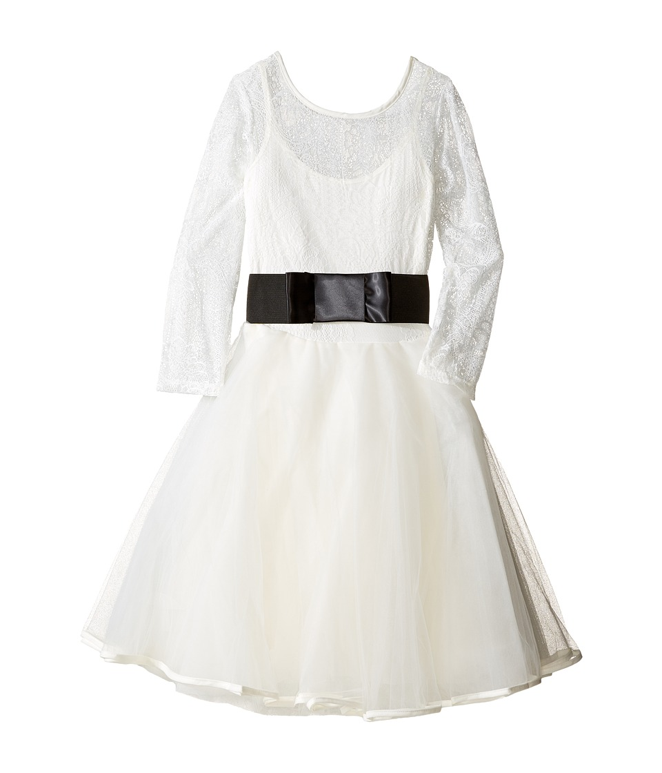 fiveloaves twofish - Olivia Dress (Big Kids) (Ivory) Girl's Dress