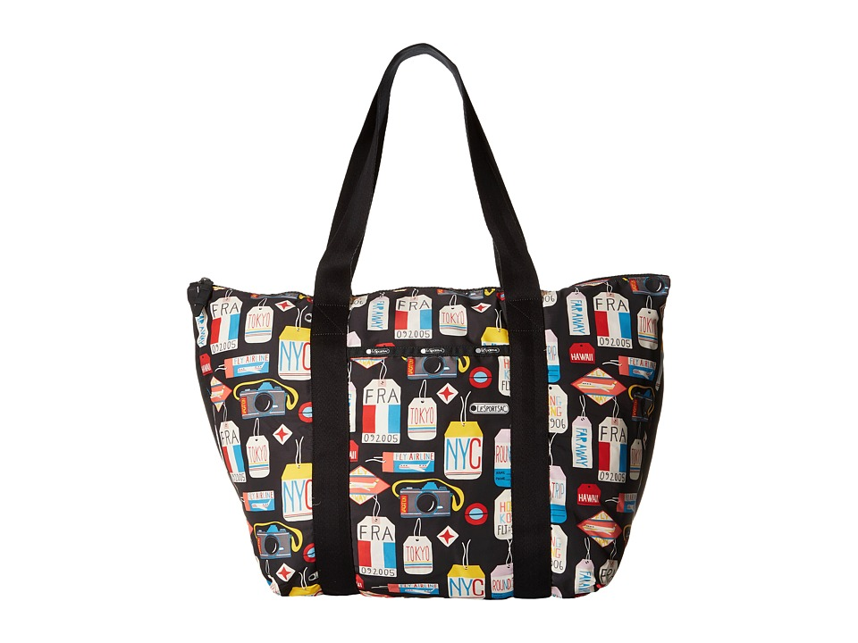 LeSportsac Luggage - Large On The Go Tote (Boarding Pass) Tote Handbags