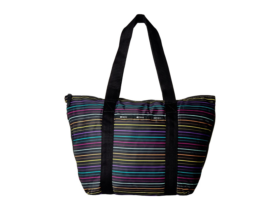 LeSportsac Luggage - Large On The Go Tote (Lestripe Travel) Tote Handbags