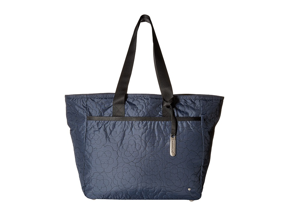 LeSportsac - Large Chelsea Tote (Poof Nightshadow) Tote Handbags