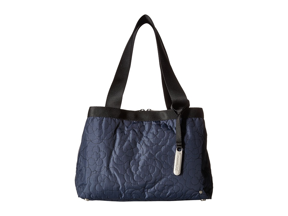 LeSportsac - Mercer Tote (Poof Nightshadow) Tote Handbags