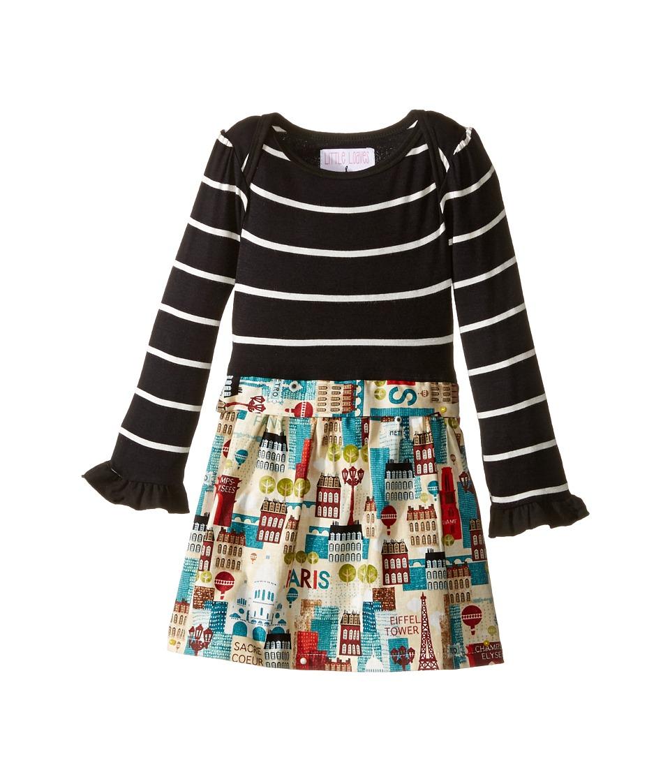 fiveloaves twofish - Abbie Dress (Infant) (Paris City Scape) Girl's Dress