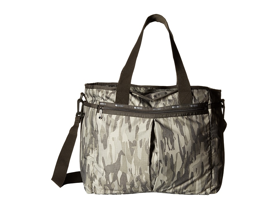 LeSportsac - Ryan Baby Tote (Animal Camo) Tote Handbags