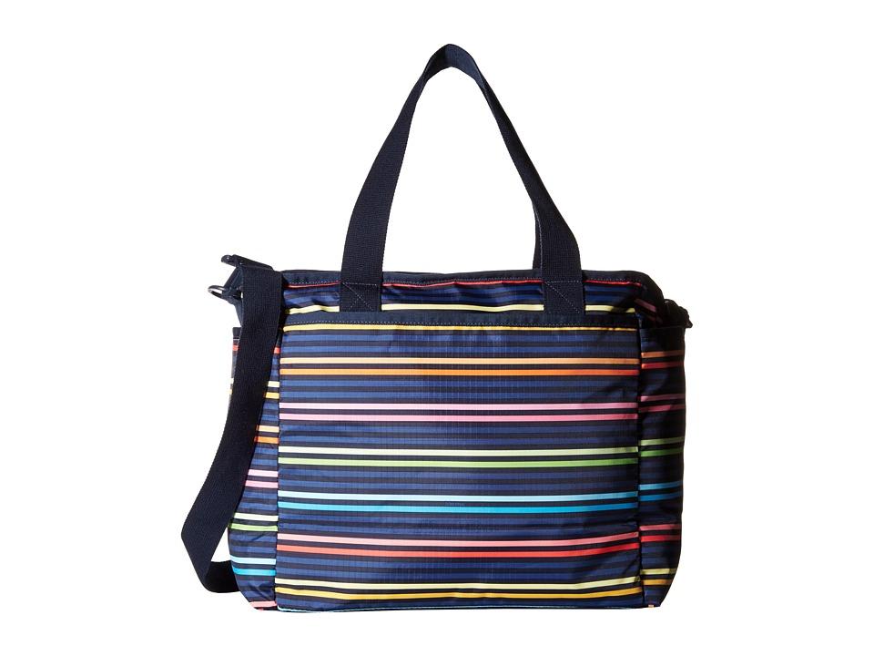 LeSportsac - Ryan Baby Tote (Baby Lestripe) Tote Handbags