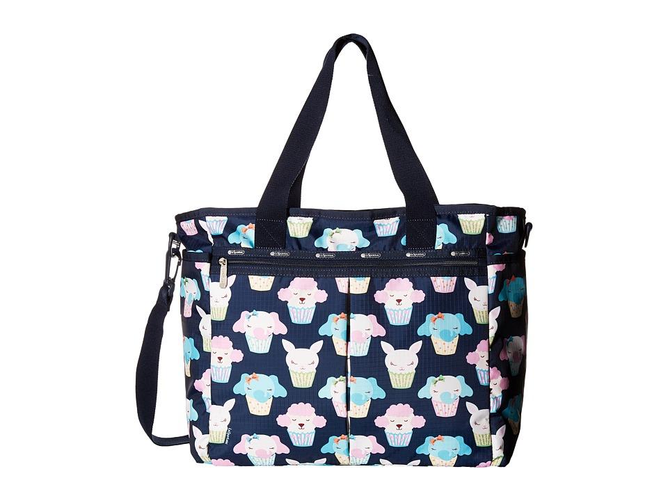 LeSportsac - Ryan Baby Tote (Babycakes Blue) Tote Handbags
