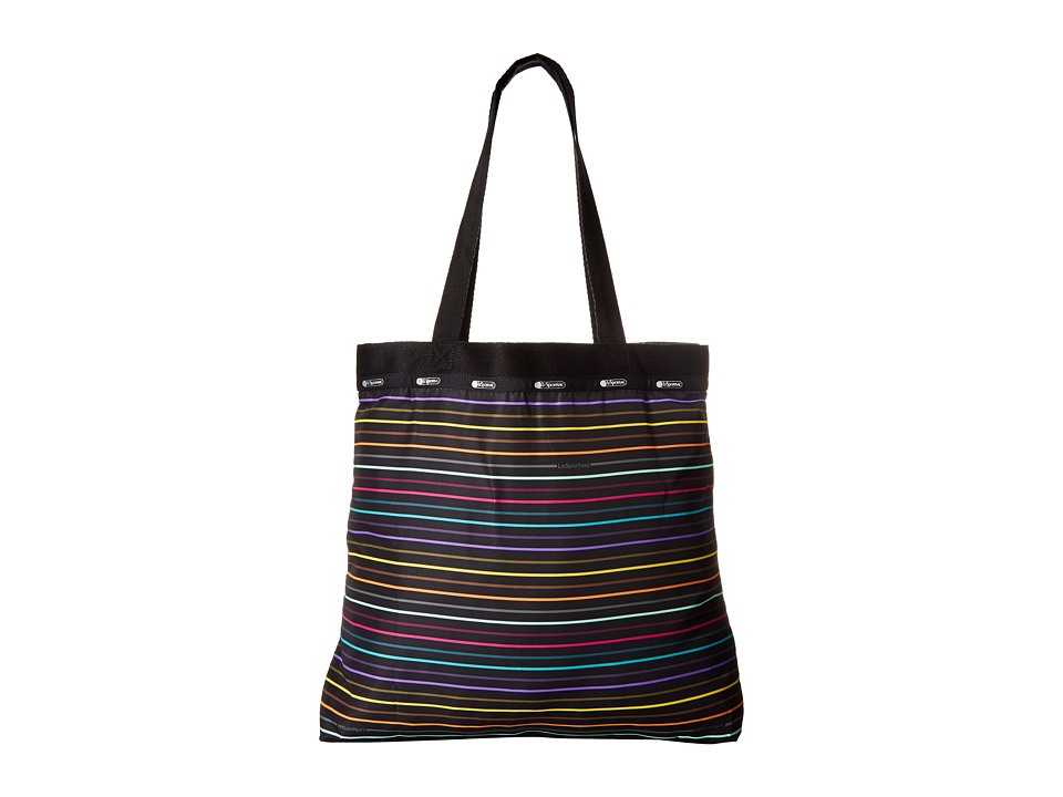 LeSportsac Luggage - Simply Square Tote (Lestripe Travel) Tote Handbags