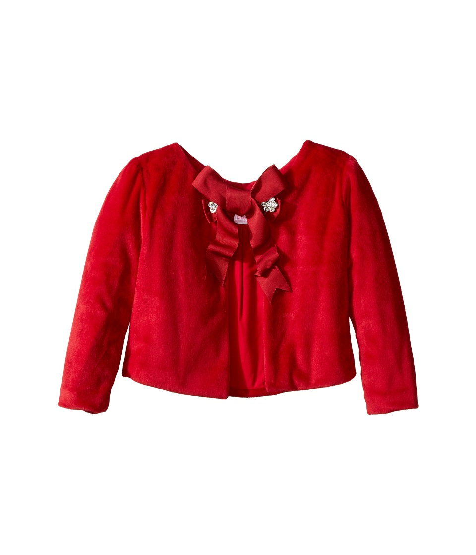 fiveloaves twofish - Little Red Coat (Toddler/Little Kids/Big Kids) (Red) Girl's Coat