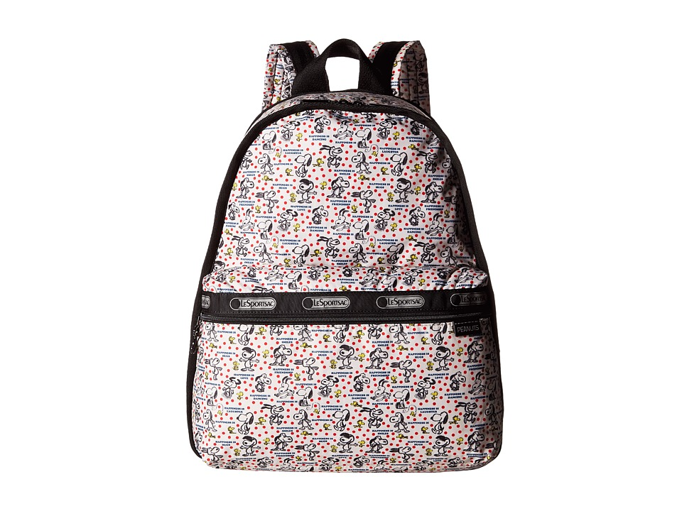 LeSportsac - Basic Backpack Bag (Happiness Dots) Backpack Bags